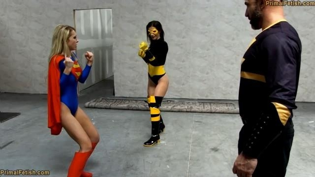 Alix Lynx, Lynn Vega - Black Adams Vengeance - The Fall of Supergirl & Green Lantern (PrimalFetish, Clips4sale) HD 720p