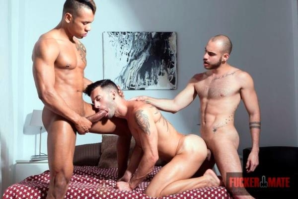 Carlos Leao, Andy Star and Patrick Dei - FuckerMate.com (HD, 720p)