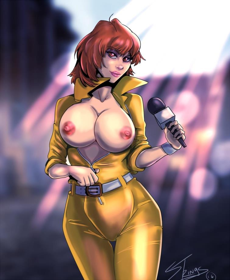 April O'Neil and many other hot cartoon babes in Porn Art Collection from Puppets [66  pages]