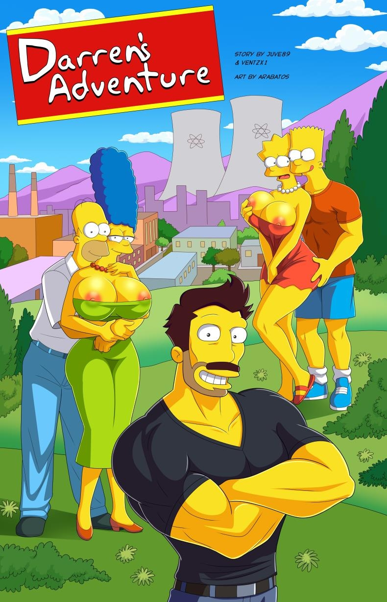 Updated fantastic Simpsons parody by Arabatos - Darren's Adventure (comics/55  pages/533.65 MB)