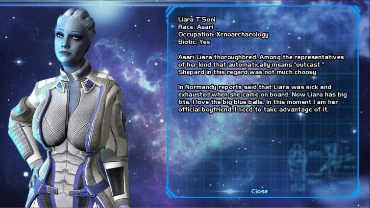 Kosmos Games Lust Effect v 0.4.00 Mass Effect universe