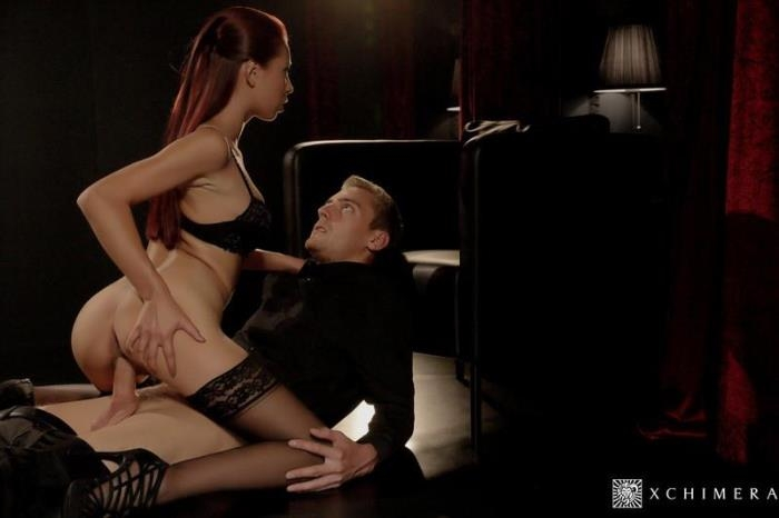Paula Shy - Sensual cock riding and hot facial for big titted Czech babe Paula Shy [SD/480p/469 MB]