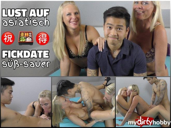German Porn - Lara & Dirty Tina - Asia Fickdate sweet and sour [FullHD, 1080p]
