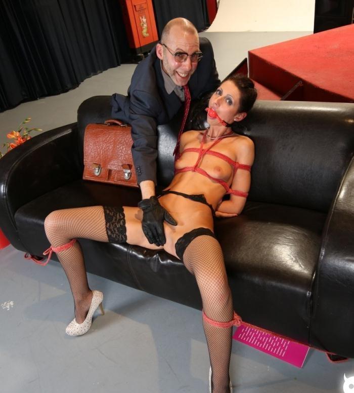 BadTimeStories/PornDoePremium: July Sun - Hot German slave babe July Sun gets tied and tortured in intense BDSM PT 2  [HD 720p]  (BDSM)