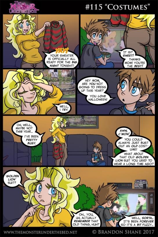 comics: Brandon Shane - The Monster Under the Bed fantasy Updated (122 Pages/242.15 MB) 14.05.2017