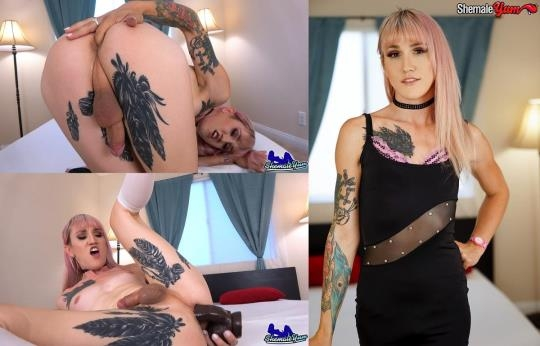 Shemaleyum: Lena Kelly - Cumshot Monday: Lena Kelly Cums Hard (FullHD/1080p/1.30 GB) 29.05.2017