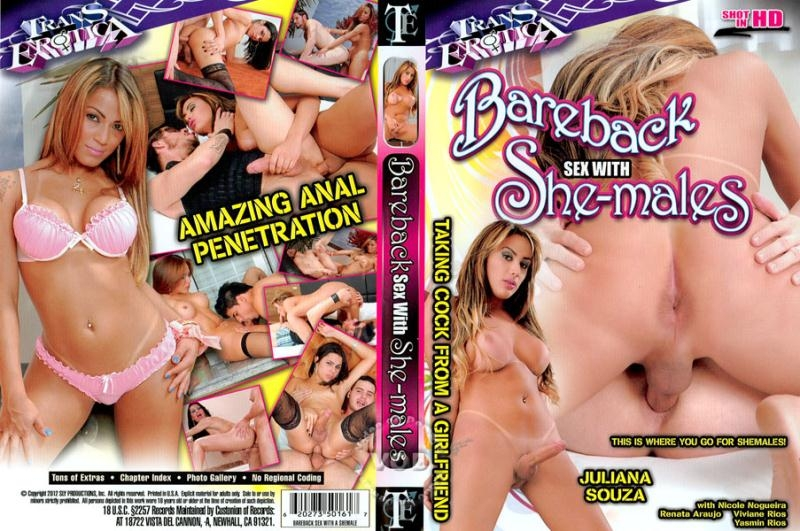Bareback Sex With She-Males [DVDRip 480p]