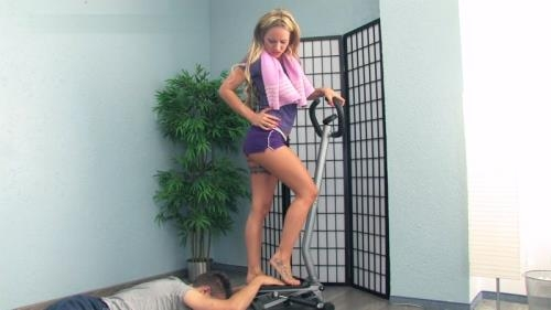 Lady-sue.com / Clips4sale.com [He Is A Part Of Lady Sue\'s Workout Training] FullHD, 1080p