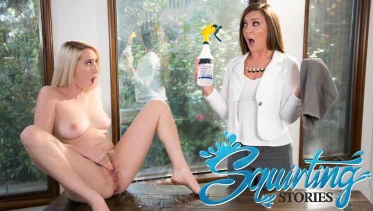 Cadence Lux & Maddy O'Reilly - Squirting Stories Volume Two: Mopping Up [GirlsWay / FullHD]