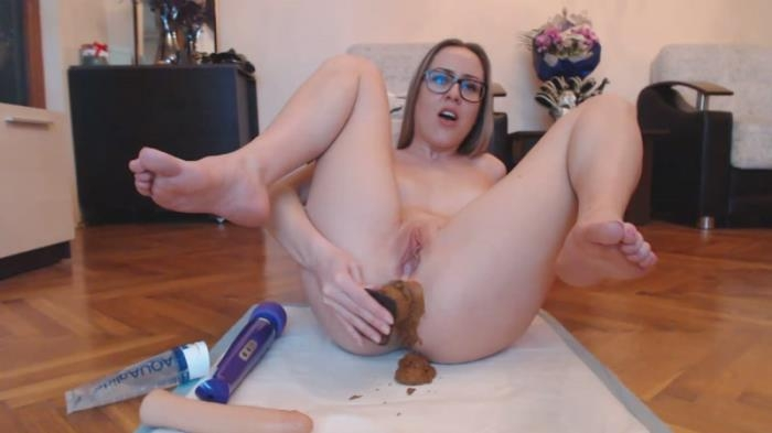 Dirty thick buttplug part 2 (Scat Porn) FullHD 1080p