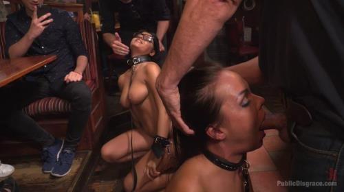 Angelina Wild, Nasty Khalifa - Best Fucking Friends [HD, 720p] [PublicDisgrace.com, Kink.com]