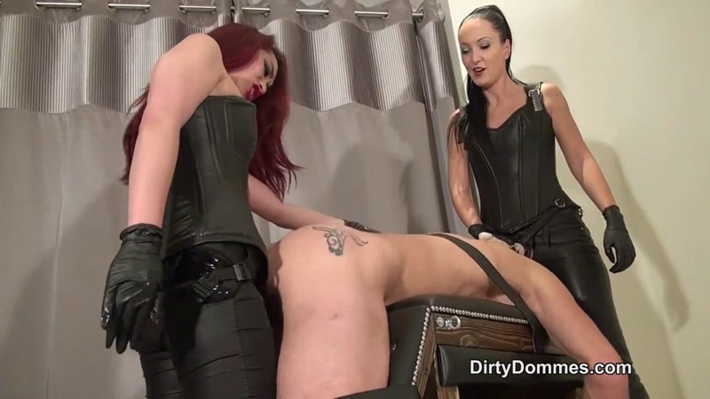 DirtyDommes.com: Goddess Maya Liyer, Fetish Liza – Shaking Ass Whore [HD] (274 MB)