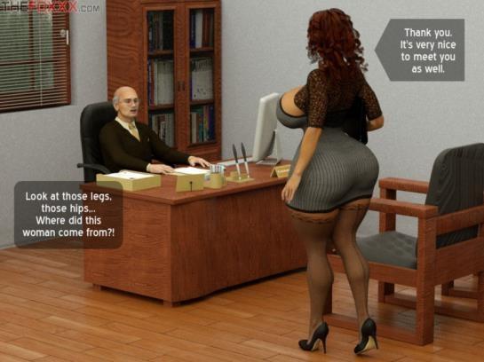 3d porn comics: Azalea's Job Interview for secretary position - Part 1 art by The Foxxx (29 Pages/12.67 MB) 13.05.2017