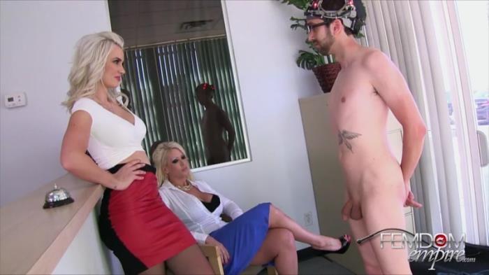 Alura Jensen, Gigi Allens - Mindless Office Drone (FemdomEmpire) HD 720p