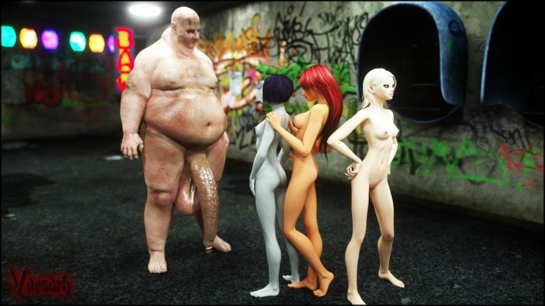 Vaesark - CGS55 - Titans (3d porn comics/60  pages/53.87 MB)