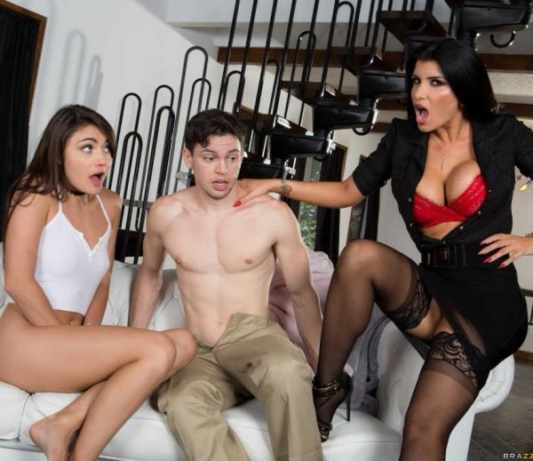 Adria Rae, Romi Rain - I Said No Friends Over! (MomsInControl) [HD 720p]