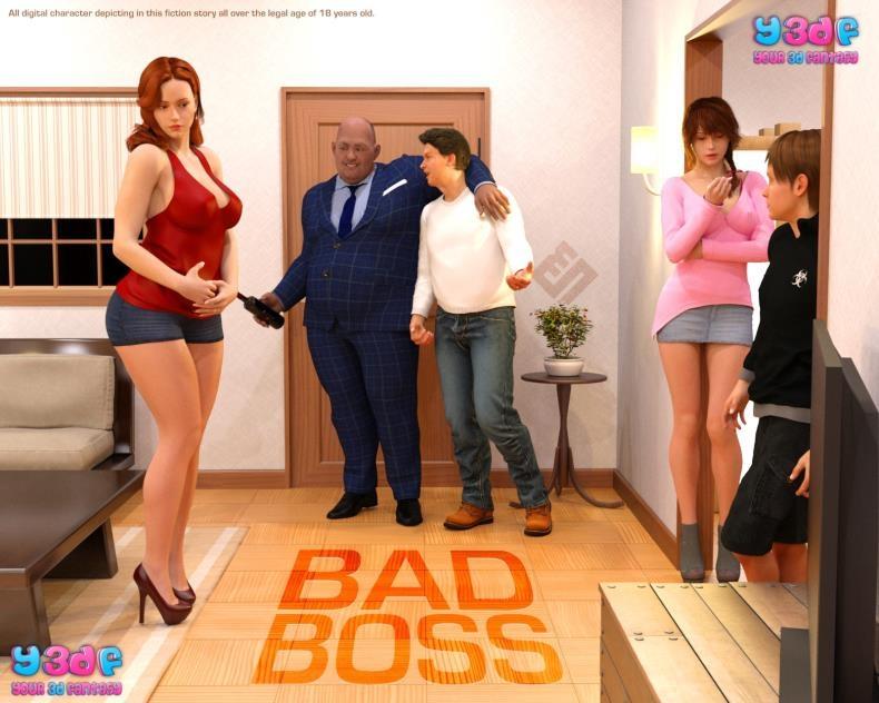 Y3DF Bad Boss (3d porn comics/45  pages/34.91 MB)