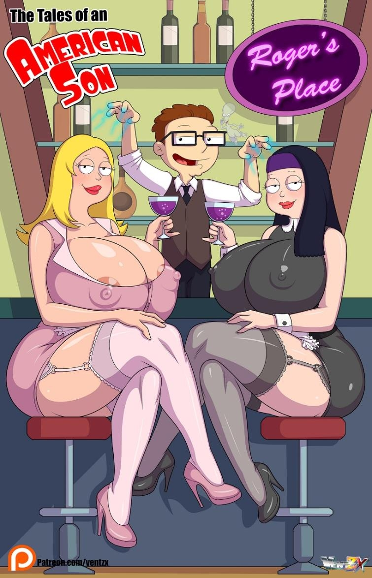 American Dad parody with Francine and Hayley by Arabatos Tales of an American Son ongoing [15  pages]