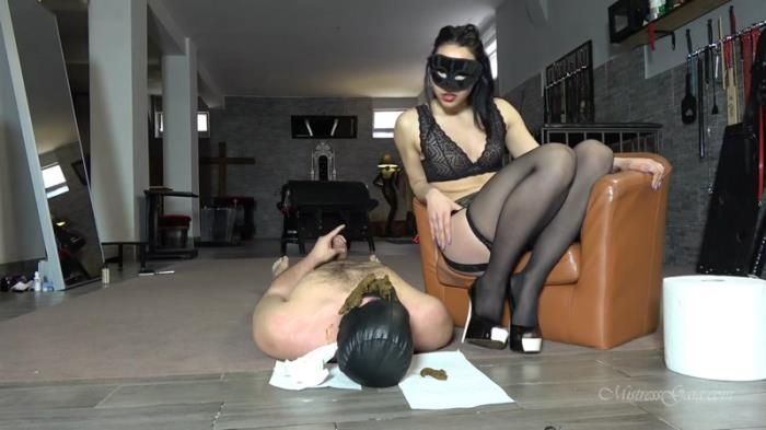 First time training my slut - Femdom Scat (Scat Porn) FullHD 1080p