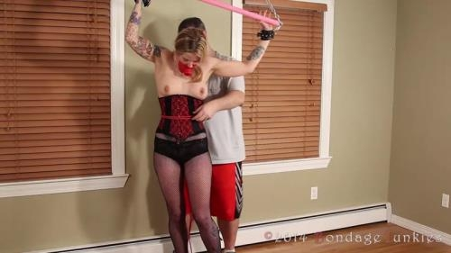 BondageJunkies.com [Makenzie vs The Leg Burn] HD, 720p