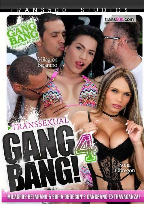 Trans 500 Studios - Transsexual Gang Bang! 4 (406 / DVDRip)