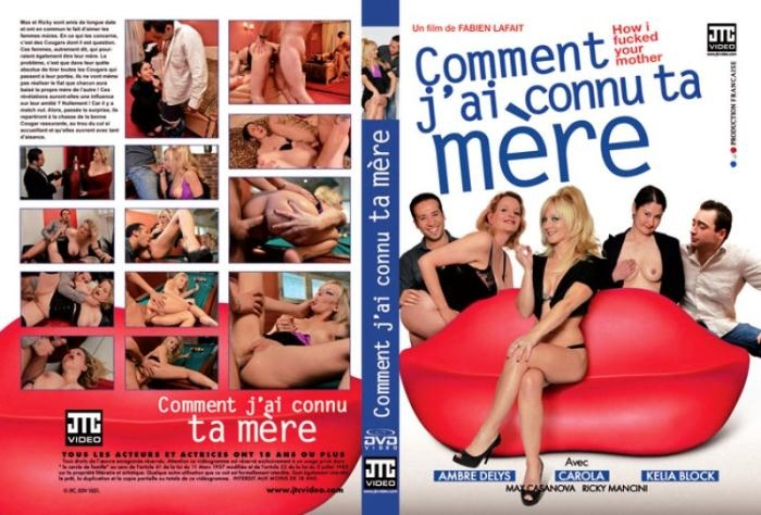 JTC Video - Ambre Delys, Carola, Kelia Block, Max Casanova, Ricky Mancini [How I Fucked your Mother!] (DVDRip 352p)