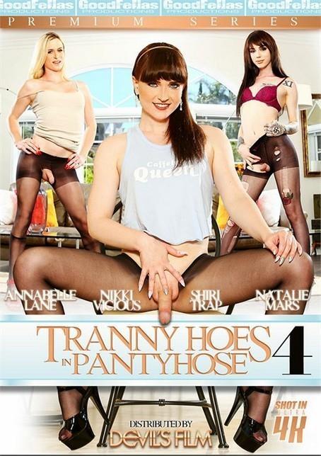 DevilsFilm: Tranny Hoes In Pantyhose 4 (SD/480p/1.27 GB) 04.05.2017
