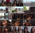Best Fucking Friends Angelina Wild and Nasty Khalifa in Group BDSM Porn [Public Disgrace / HD]
