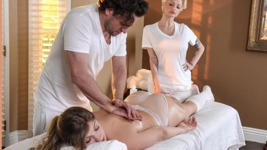 DirtyMasseur, Brazzers: Giselle Palmer - Rub The Boss's Daughter (SD/480p/253 MB) 26.05.2017