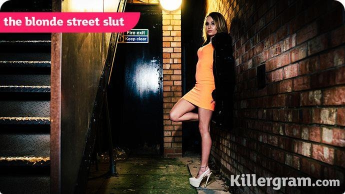 Killergram.com - Carmel Anderson - The Blonde Street Slut [HD, 720p]