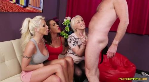 PureCFNM.com [Amber Deen Angelina Elise And Barbie Sins Wildest Thing Ever] SD, 400p