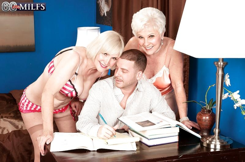 60PlusMilfs: Jewel, Lola Lee - Jewel, Lola Lee and A Stud The Video [HD 720p] (377 MB)
