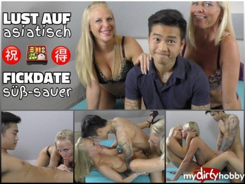 German Porn [Lara & Dirty Tina - Asia Fickdate sweet and sour] FullHD, 1080p