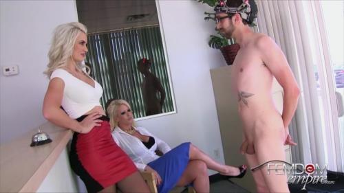 FE [Alura Jensen, Gigi Allens - Mindless Office Drone] HD, 720p