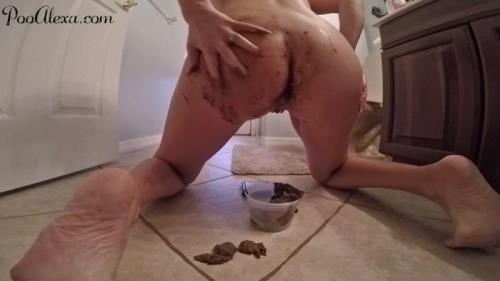 Scat [3 HUGE Messy Shits] FullHD, 1080p