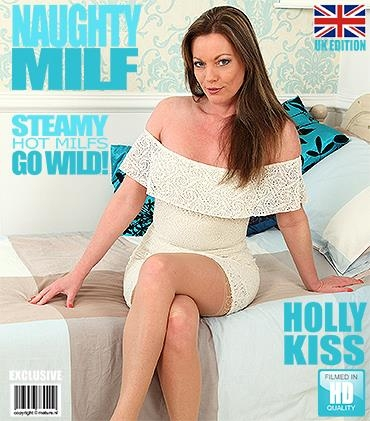 Mature.nl, Mature.eu: Holly Kiss (EU) (42) - British MILF fooling around (FullHD/1080p/1.68 GB) 08.05.2017