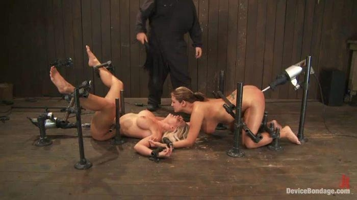 Christina Carter, Trina Michaels, Holly Heart - The August Live Feed (DeviceBondage, Kink) HD 720p