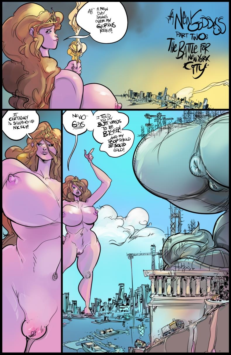 Mamabliss A New Goddess Part 2 The Battle For New York City with Deadpool from Marvel Comics (comics/31  pages/39.23 MB)