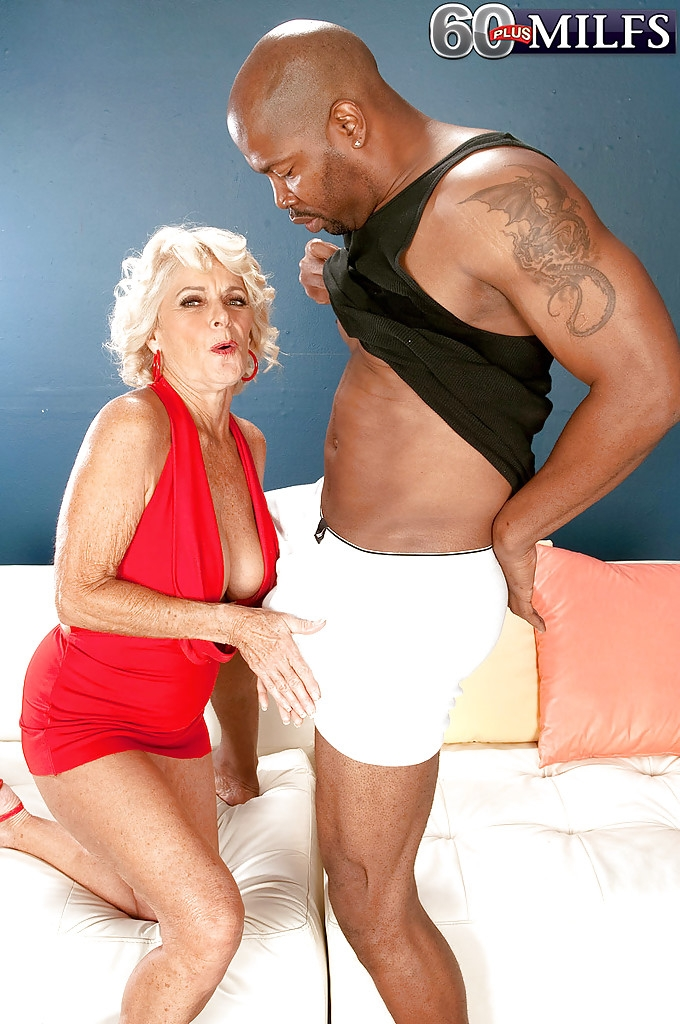 60Plusmilfs - Georgette Parks - Big Black Cock Makes Georgette Cum Hard! [SD 480p]