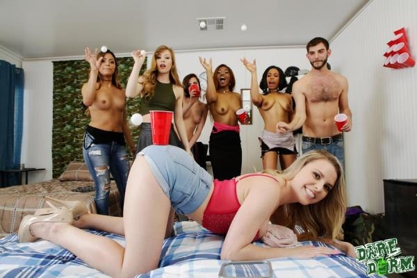 DareDorm, GFLeaks - Nina Nirvana, Ivy Wolfe, Quinn Quest - My Gf Likes To Party [SD, 432p]
