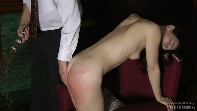 Triple A Spanking: Birched Maid [HD] (982 MB)