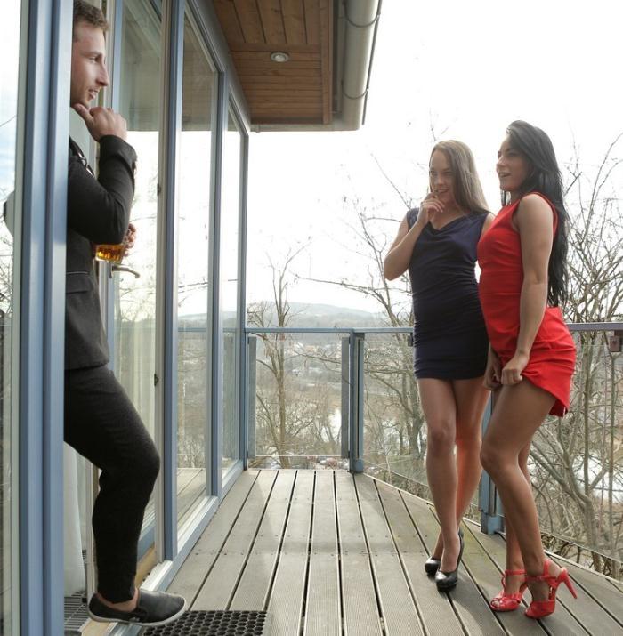 NubileFilms: Blue Angel, Mindy - Whiskey And Women  [HD 720p]  (Threesome)
