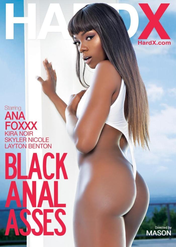 Hard X - Ana Foxxx, Skyler Nicole, Layton Benton, Kira Noir [Black Anal Asses] (WEBRip/HD 720p)