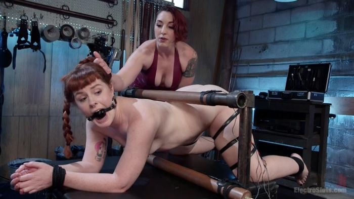 ElectroSluts - Mistress Kara, Barbary Rose - How Much Will You Take? [HD 720p]