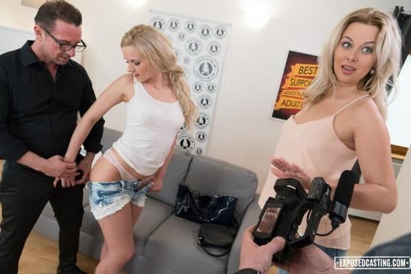 ExposedCasting, PornDoePremium - Katie Sky - Sexy Czech chick Katie Sky gets cum covered in racy audition fuck [SD, 480p]