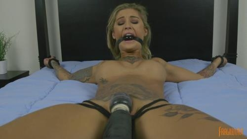 FragileSlave.com [Tattooed mega babe is made to cum] FullHD, 1080p