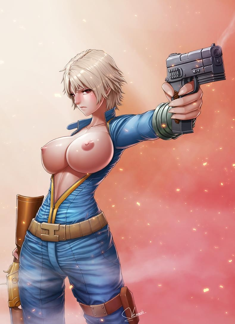 Teen Girls with Swords and Guns from NewasH (comics/64  pages/27.44 MB)