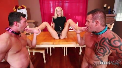 SubbyHubby.com [Toes Sucked By Stepfather and Stepbrother] FullHD, 1080p