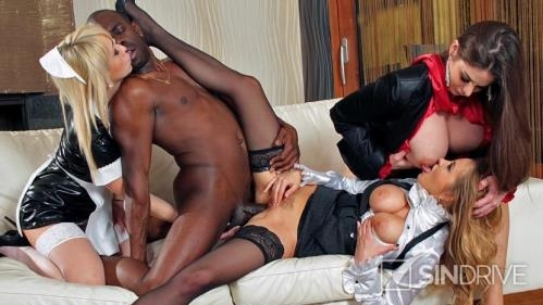 PervyOnes.com / SinDrive.com [Cathy Heaven, Candy Alexa, Christina Shine - High Class Ass!] FullHD, 1080p
