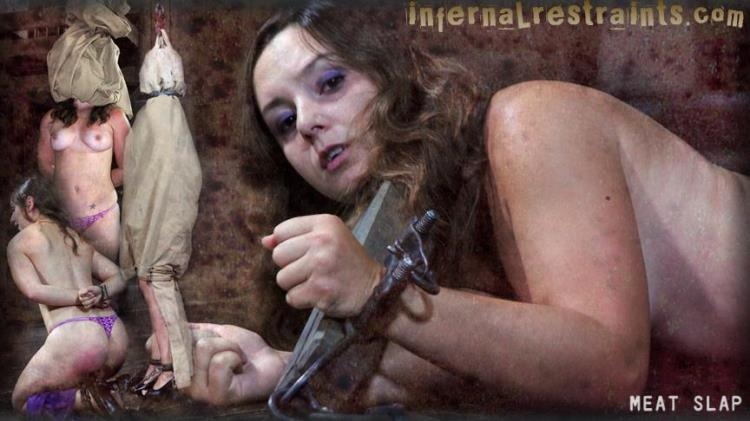 Meat Slap: Part 1 with girlslave Sasha [Infernal Restraints / HD]